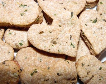 Bad Breath Buster Dog Biscuits for Dogs - All Natural and Homemade