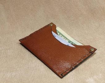 Handmade card case or minimalist wallet