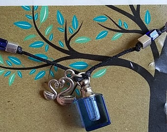 Swans Essential Oil Cord Necklace
