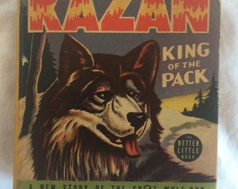 Kanzan, King of the Pack; Better Little Book; 1940 First Edition, Very  Good Condition