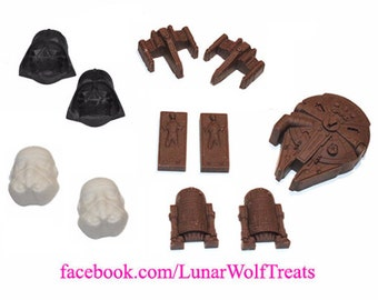 Deluxe Chocolate Star Wars Set