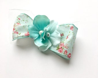 Charlotte Floral Bow
