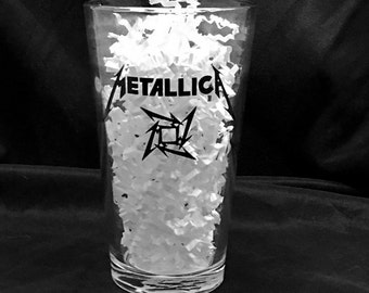 Metallica Glass/Pint Glass/Wine Glass/ Tumbler/Mug