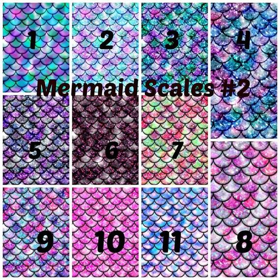 Mermaid Scales 2 Adhesive 651 Vinyl Htv Or Glitter Htv
