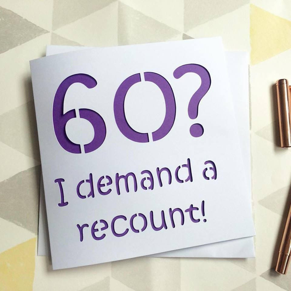 60th birthday card – 60th Birthday Cards Funny