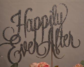 Cake Topper, Wedding Cake Topper, Silver Cake Topper, Bling Wedding Cake Topper, Large wedding Cake Topper