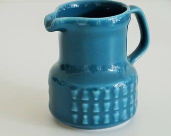Turquoise retro milk jug, Bavaria Schwarzenhammer