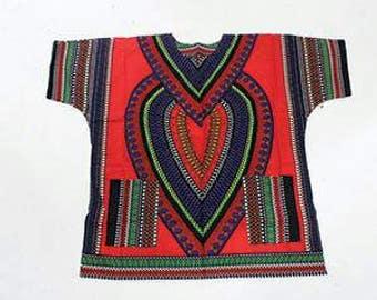 Heart of Africa Dashiki Plus size