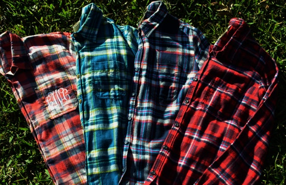 Oversized Flannel Shirts Women