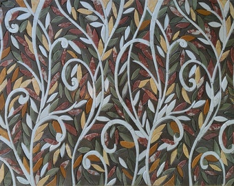 Abstract Entangled Design Mosaic