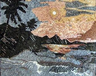 Abstract  Nature Art Mosaic