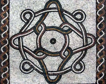 Romanesque Mosaic Square - Galas