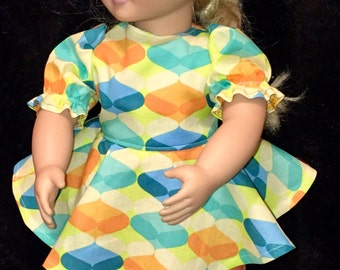 18 in. American Girl Doll 3 piece outfit