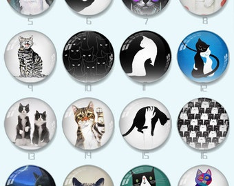 Handmade Round Photo glass Cabochons ...