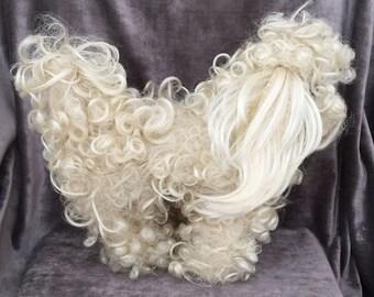 Vintage stuffed poodle dog