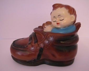 Vintage Novelty Coin Bank