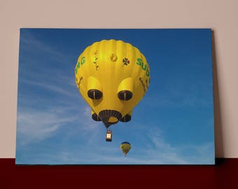 Hot Air Balloon   | Mirror Wrap Professional Canvas
