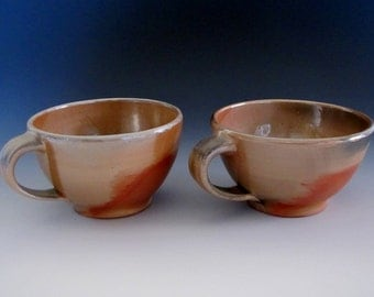 Wood Fired Soup Mugs (pair)