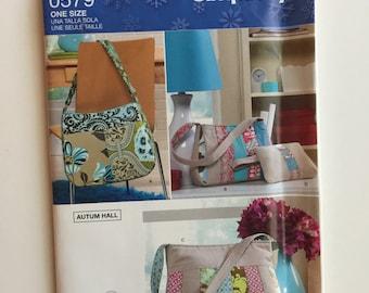 Purse pattern, bag pattern, makeup bag patter, keyring pattern, Simplicty Pattern 0579 - Destash Sewing Pattern