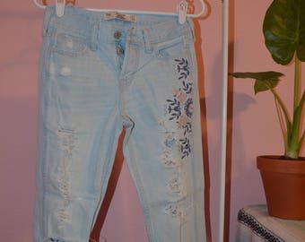 Hollister Vintage Boyfriend Jeans 00R