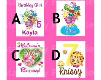 Personalized Digital Image for T shirt, party, Printable Iron On Transfer, Sticker custom Birthday Shirt image