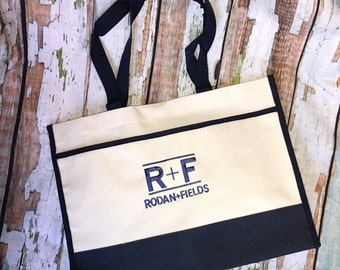 Rodan + Fields bag, R+F, Rodan and Fields tote