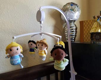 Custom Disney Princesses baby mobile, FREE SHIPPING!!!