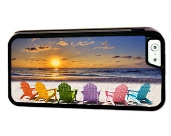 Beach Chairs iPhone 7 Case-iPhone 7 Plus