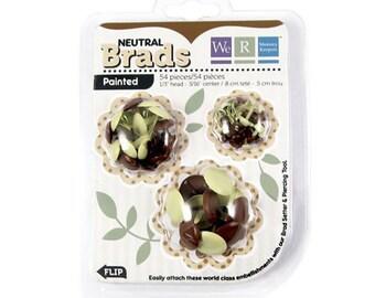 Brads, 54 count, neutral