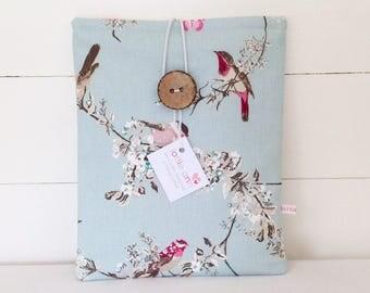 Beautiful Birds iPad Cover, Birds iPad Sleeve, Birds Tablet Case, Tablet Sleeve, Tablet Cover