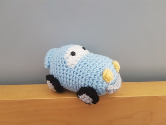 Amigurumi Baby Shower Bears : Amigurumi Car Crochet Toy Baby Shower Decor Nursery Decor