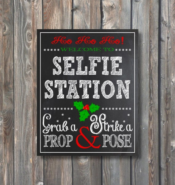 It's just a photo of Decisive Selfie Station Sign Free Printable