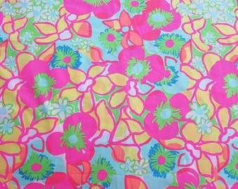 Ice Cream Social 9 X 18 or 18 X 18 inches ~ Lilly Pulitzer~