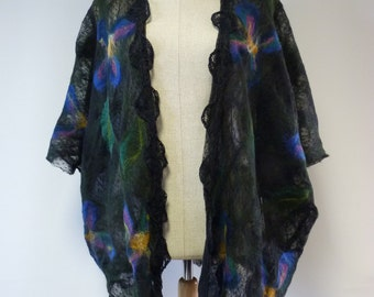 Exceptional delicate artsy  vest oversized, one-of-a-kind. A good piece to match all ( S to XL size).
