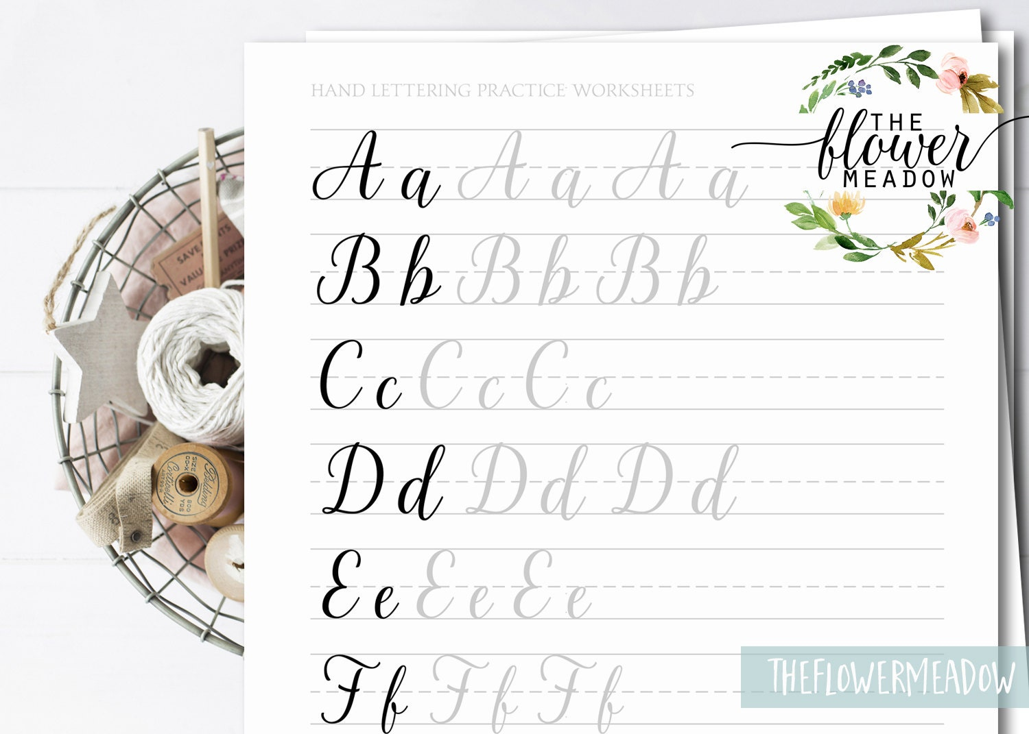 how to hand letter lettering practice learn calligraphy lettering guide 10514 | il fullxfull.1153412315 8fj5