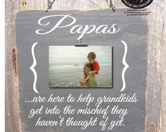 fathers day gift papa sign papa frame papa gift papa picture frame gift for papa papa christmas gift for papa papa christmas gift