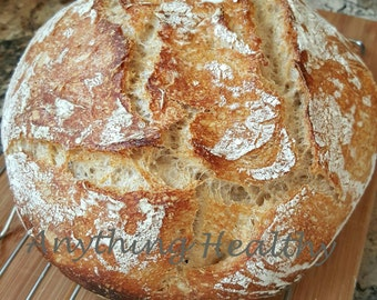 Wild Sourdough Wheat Bread Starter Dried Dehydrated Probiotic Culture,  Bake at Home, Easy Recipe Upon Request