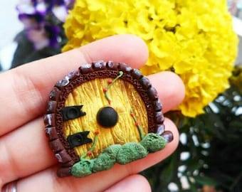 Hobbit miniature door