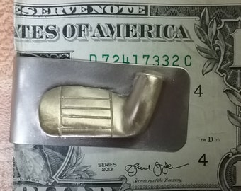 Golf club money clip