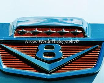 Car Art - Car Poster - Ford V8 Badge - Ford Emblem - Classic Car Photo & Ford emblem   Etsy markmcfarlin.com