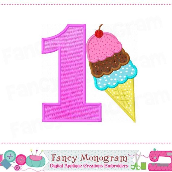 Ice cream cone number 1 appliquemy 1st birthday1ice cream ice cream cone number 1 appliquemy 1st birthday1ice cream conenumber 1ice cream applique1babies appliquesummer applique ccuart Images