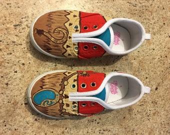 Custom island princess shoes