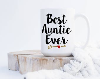 Best Auntie Ever (any name) Coffee Mug