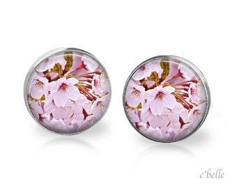 Earrings cherry blossoms 51