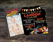 Print or Digital | Mickey Roadster Racers Invitation | with Picture | Birthday Party | Thank You | Customizable