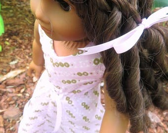 "18"" Doll Maxi Dress A Line Fits American Girl Dolls"