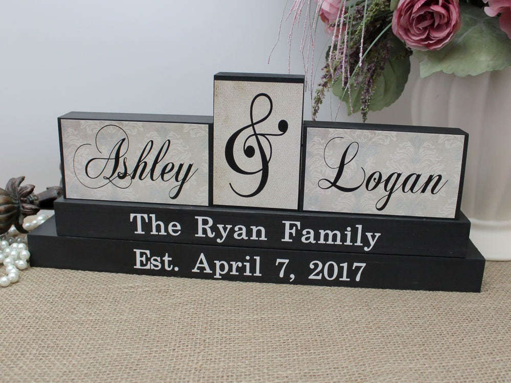 Personalized Wedding Gifts For Couples: Unique Wedding Gift For Couple Parents Anniversary Gift