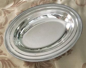 Castleton 682 Silver Plate Tray