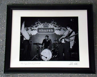 The Figgs - Framed, Matted Photograph 16X20 (2008)