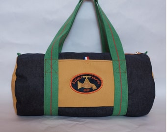 duffel bag , organic cotton